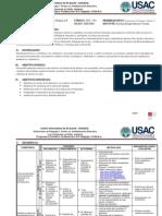 programa 2014 curso Fundamentos de Pedagogía y Didáctica II