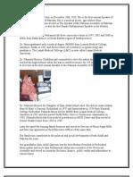 Dr. Fahmida Mirza Dr. Fahmida Mirza Was Born on December