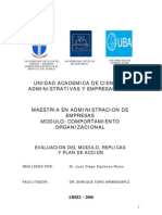 Comport a Mien To Organizacional Carta a Mi Amigo Enrique Manzanilla (Enrique Toro)