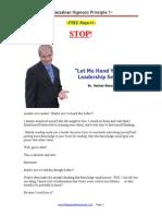5 Keys to Leadership