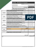 5S Audit Checklist