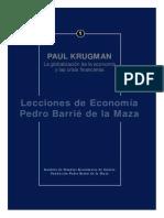 Lecciones de Economía - Paul Krugman