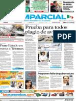 El Imparcial Primera Plana 10 de Septiembre de 2009 sobre la venta de Telemax