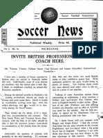 Soccer News 1949 August 13