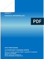 Acca Cover Page