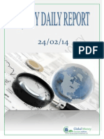 Daily Equity Report by Global Mount Money 24-02-2014