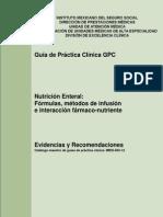 GUIA DE PRACTICA CLINICA ALIMENTACIÓN ENTERAL E INTERACCION