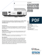 Epson EB-1945W 3LCD Auto-Correcting Multimedia Projector