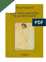 Los+Testamentos+Traicionados+ +Milan+Kundera