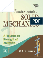 Fundamental of Solid Mechanics M.L. Gambhir