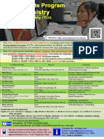 Postgraduate Program in Biochemistry, Tzu Chi University