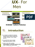 LUX for MEN... Advertisment Project
