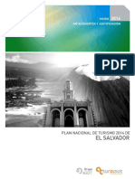 Plan Turistico El Salvador 2009 2014
