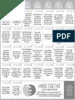 Prayer Calendar - September 2013