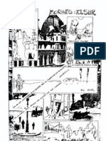 El Sur, cuento de Borges, dibujo de Bernardo Víctor Carande