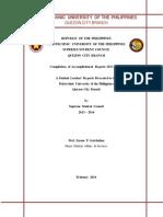 Title Page Accomplishment
