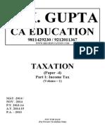 Income Tax Volume - 1