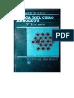 Cerca Del Cero Absoluto - V. Edelman