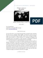 Plato Prov Syllabus 2014