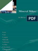Materi Gizi - Mineral Mikro
