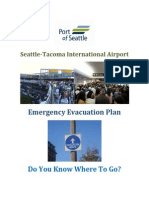 Airport Evacuation Plan
