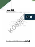 Pedoman Penyusunan Spesifikasi Teknis