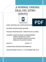 Historia de La Educacion - Investigacion