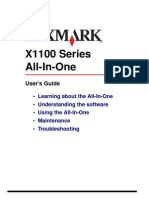 lexmark X1100 Serie