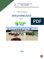 Plan Afaceri Spalatorie Auto