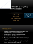 Prenatal Pharmacology (2)