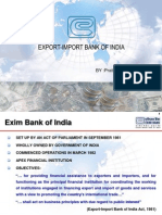 Role & Functions of Exim Bank