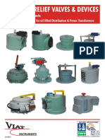 Pressure Relief Devices for Power Transformers