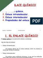 4 El Enlace Quimico