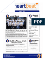 2-Heartbeat Newsletter APRIL 2005