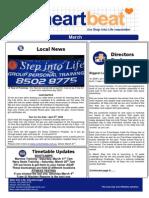 13-Heartbeat Newsletter MARCH 2006
