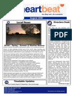 18-Heartbeat Newsletter AUGUST 2006
