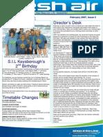 24 - Fresh Air Newsletter FEBRUARY 2007
