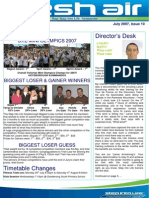 29 - Fresh Air Newsletter JULY 2007