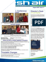 30 - Fresh Air Newsletter AUGUST 2007