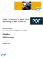 Forward Error Handling in PI Scenarios