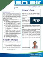 36- Fresh Air Newsletter FEBRUARY 2008