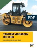 Vibrator Roller Catterpilar