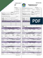 Membership Status Verification Slip (MSVS, HQP-HLF-063, V01)