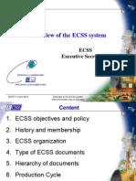 ESA Overview ECSS Slovakia 1 June 2012