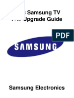 2013 Samsung TV Firmware Upgrade Instruction