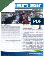 54- Fresh Air Newsletter AUGUST 2009 Keysborough