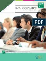 Bilan Social Bnp Paribas Sa 2011.25956
