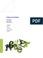 Peter Erikson Portfolio