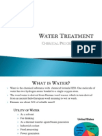 Water Contaminations and treatment