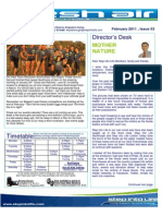 72- Fresh Air Newsletter FEBRUARY 2011 Keysborough